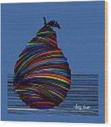 A Pear 2002 Wood Print