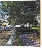 A Perfect Day On The Boardwalk Walt Disney World Wood Print