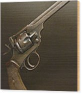 A Pilot's Pistol Wood Print