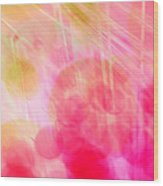 A Pink Dream Wood Print