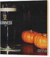 A Pint For Fall, Slainte Wood Print