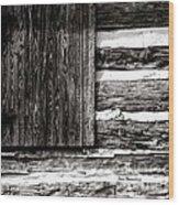 A Pioneer Flag Wood Print
