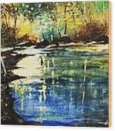 A Place Of Peace And Tranquility Wood Print