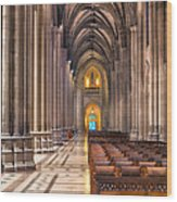 A Place Of Worship Wood Print