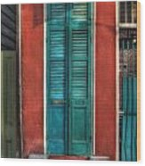 A Place To Call Home Wood Print by Brenda Bryant