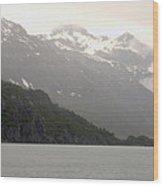 A Placid Alaska Wood Print