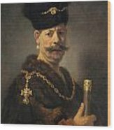 A Polish Nobleman Wood Print
