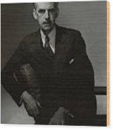 A Portrait Of Eugene O'neill Wood Print