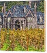 The Ledson Castle - Kenwood, California Wood Print