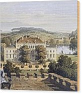 A Prussian Royal Residence, C.1852-63 Wood Print