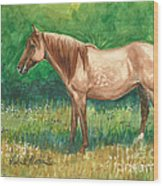 A Quiet Place Wood Print by Linda L Martin