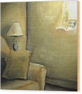 A Quiet Room Wood Print