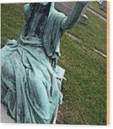 A Raised Hand -- Thomas Trueman Gaff Memorial -- 2 Wood Print