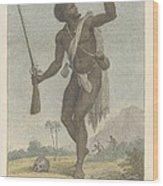 A Rebel Negro Wood Print