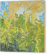 A Reflected Sky Wood Print
