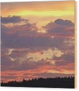 A Remarkable Sky Wood Print