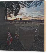 A Remembrance At Franklin Wood Print by Kim Kruger