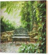A Restful Retreat Wood Print