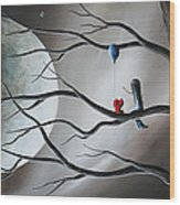 A Road To Healing Starts With Memories By Shawna Erback Wood Print by Shawna Erback