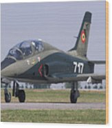 A Romanian Air Force Advanced Trainer Wood Print