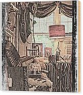 A Room With An Invitation Wood Print