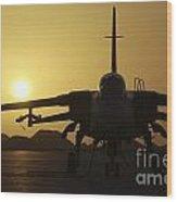 A Royal Air Force Tornado F3 Wood Print