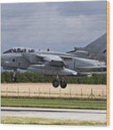A Royal Air Force Tornado Gr4a Landing Wood Print