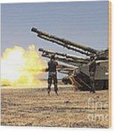 A Royal Jordanian Land Force Challenger Wood Print
