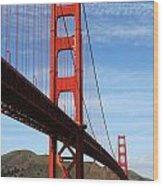 A San Francisco Icon Wood Print