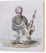 A Sarinda, Or Hindostan Type Violin Wood Print
