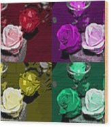 A Scent Of Roses Wood Print