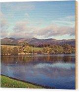 A Scottish View Wood Print