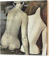 A Separate Sorrow Wood Print