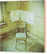 A Small Chair Wood Print