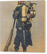 A Soldier IInfanterie Wood Print