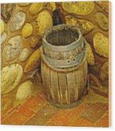 A Sole Barrel Wood Print