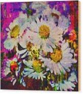 A Splash Of Spring Wood Print