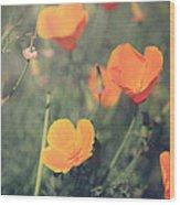 A Springtime Breeze Wood Print