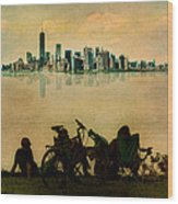 A Staten Island Fantasy Wood Print