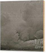 A Storm Broke Magic Landscape. Free Europe. Wood Print