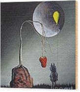 A Strange Dream By Shawna Erback Wood Print