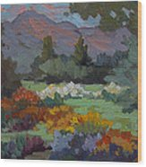 A Sunny Afternoon In Santa Barbara Wood Print