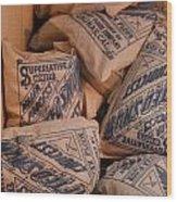 A Supply Of Flour Wood Print