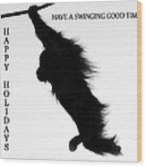 A Swinging Good Time Wood Print