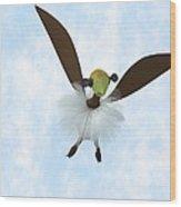 A Tackiebird Closeup Wood Print