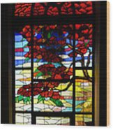 A Tale Of Windows And Magical Landscapes Wood Print