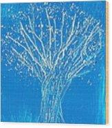 A Tangled Season Wood Print
