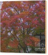 A Taste Of Fall Wood Print