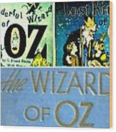 A Tribut To The Oz Wood Print