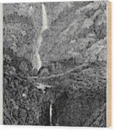 A Trip To The Pyrenees Cascade Et Gouffre Denfer Wood Print